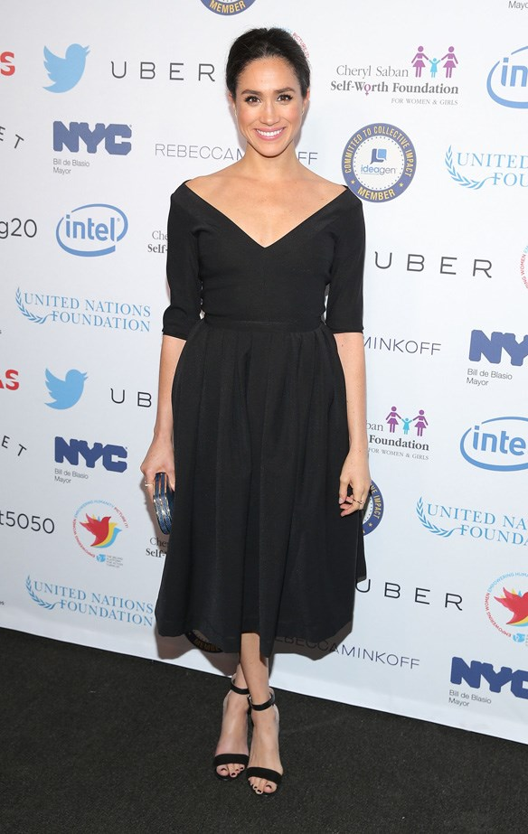 At a 'Step It Up For Gender Equality' event in New York, March 2015.