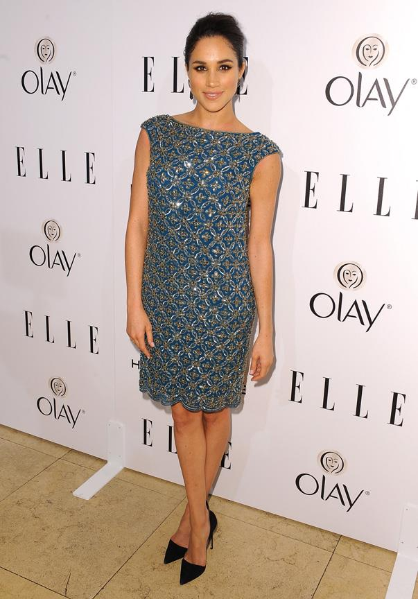 At *ELLE*'s Women in Television event in New York, January 2014.