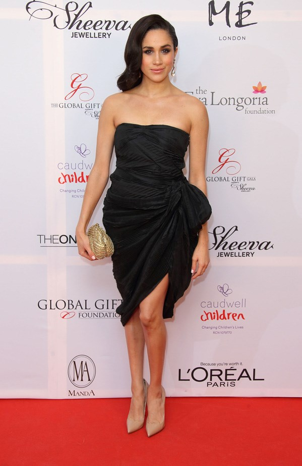 At the London Global Gift Gala, November 2013.