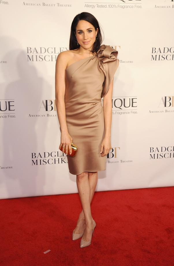 At the American Ballet Theatre opening night in New York, October 2013.