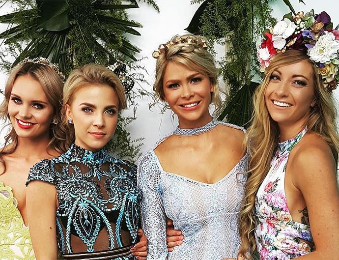 The Bachelor Australia Contestants Steph Dixon, Olena Khamula, Megan Marx and Tiffany Scanlon