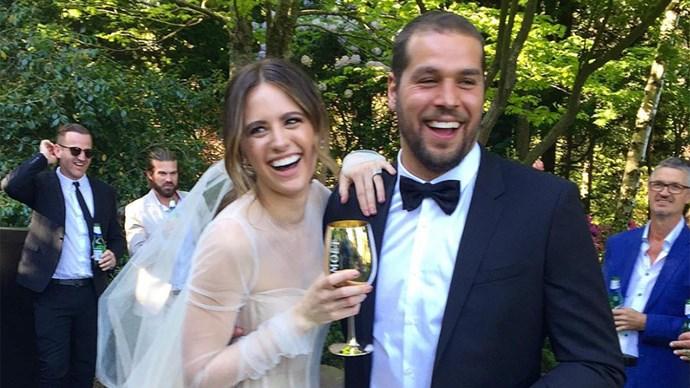 Jesinta Campbell Buddy Franklin Wedding