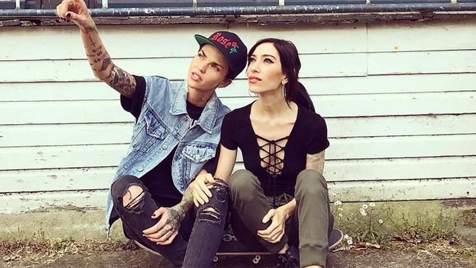 Ruby Rose Dating Jessica Origliasso From The Veronicas