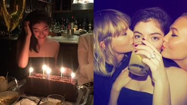 Lorde Gets The Gift Of A Taylor Swift-Planned Birthday Party