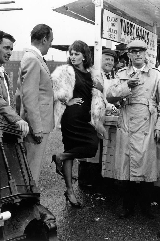 Sofia Loren, 1960.