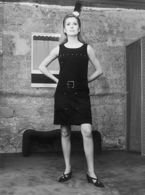 Catherine Deneuve, 1966.