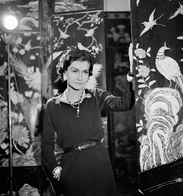 Coco Chanel, 1937.