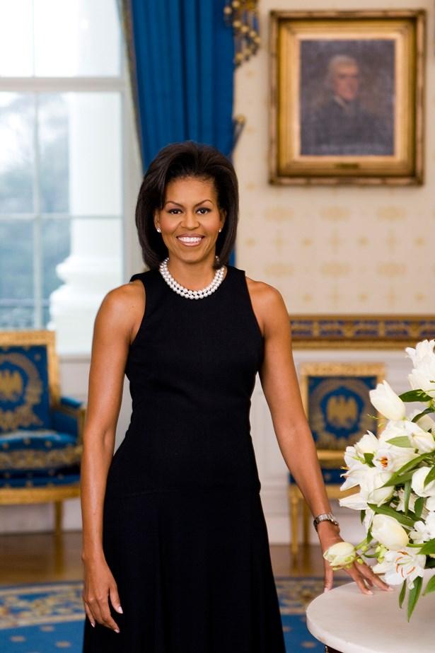 Michelle Obama, 2009.