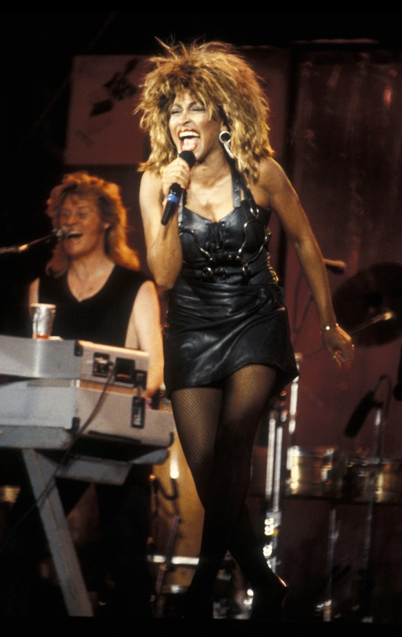 Tina Turner, 1985.