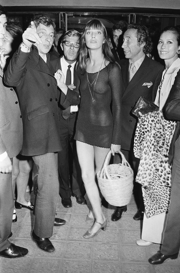 Jane Birkin, 1969.