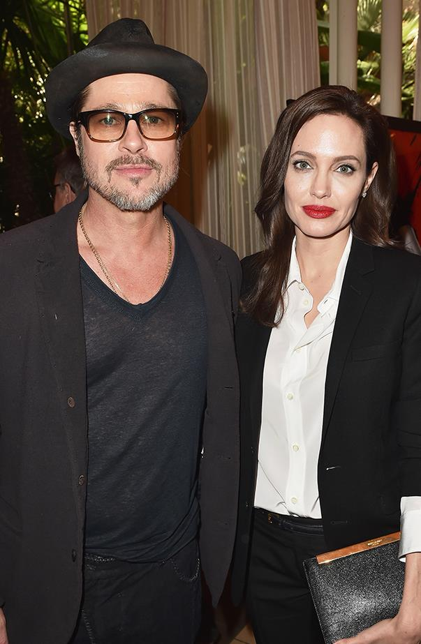 <p><strong>Brad Pitt and Angelina Jolie</strong> <p>No celebrity split shocked the world more than Angelina and Brad's announcement that they were divorcing in September, not long after celebrating their two-year wedding anniversary and 10 years together. According to reports Angelina filed for divorce after Brad was physically and verbally abusive to Maddox, their 15-year-old son, on a flight from Nice, France, to California.