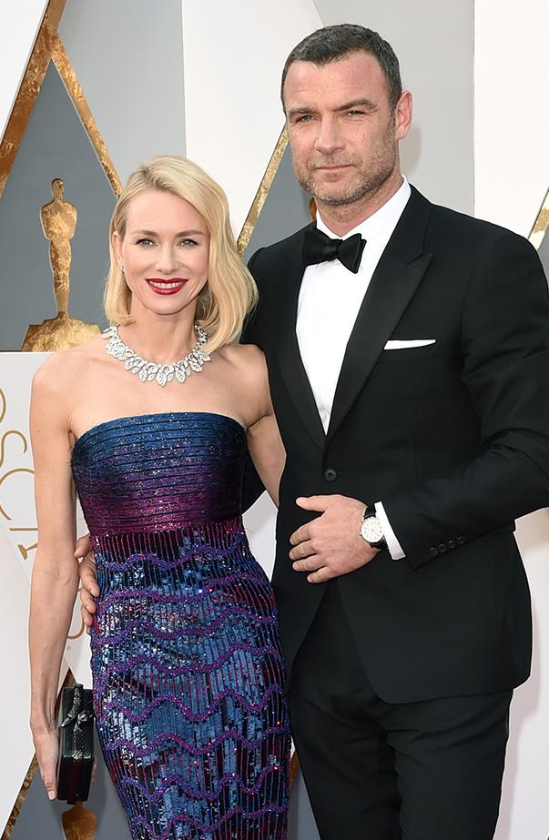 """<p><strong>Naomi Watts and Liev Schreiber</strong> <p>Hollywood was rocked when Naomi and Liev, who have never married, <a href=""""http://www.elle.com.au/news/celebrity-news/2016/9/naomi-watts-liev-schreiber-split/"""">announced they were separating in September</a> via a joint statement—they had appeared in love while promoting a film at the Toronto International Film Festival just weeks earlier. They have remained super friendly since splitting, wishing each other sweet birthday messages on social media, and said their sons, Sasha and Sammy, are their number one priorities."""