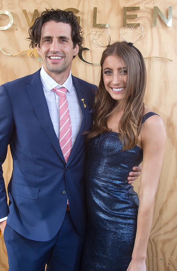 <p><strong>Andy Lee and Rebecca Harding</strong> <p>Andy and Rebecca broke up in July after a year of dating. Andy subtly confirmed the news on his radio show with Hamish Blake.