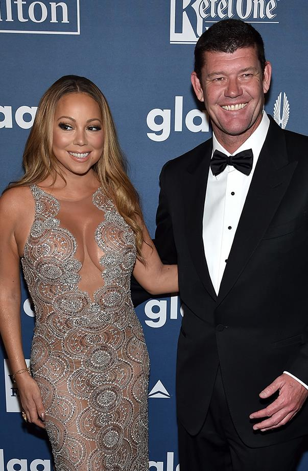<p><strong>Mariah Carey and James Packer</strong> <p>It's been a year of ups and downs for Mariah and James, who got engaged in January but split in October.