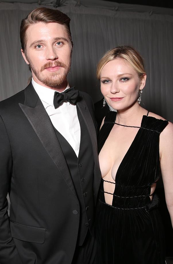 <p><strong>Kirsten Dunst and Garrett Hedlund</strong> <p>Kirsten and Garrett were one of Hollywood's quieter couples, but they certainly made a handsome pair. They broke up in April after dating for four years.