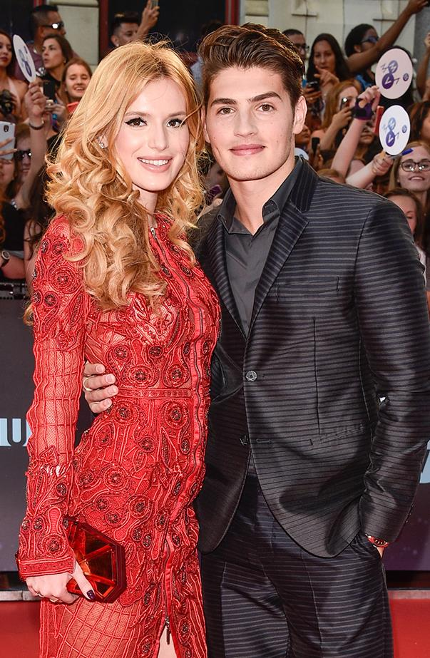 <p><strong>Bella Thorne and Gregg Sulkin</strong> <p>Young Hollywood couple Bella and Gregg called it quits in August after a year of dating. Shortly after their split Bella revealed she is bisexual, and she is now in a relationship with Tyler Posey, her long-time friend and also friend (perhaps former?) of Gregg's.