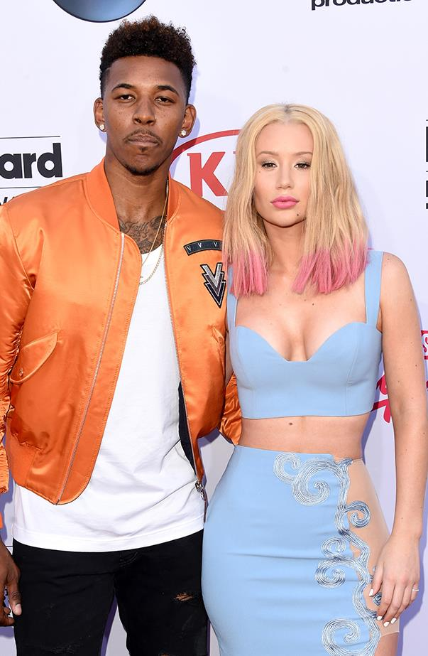 <p><strong>Iggy Azalea and Nick Young</strong> <p>In one of the messier splits of 2016, Iggy broke off her engagement from basketball player Nick after revealing (via Twitter) she had caught him cheating on her thanks to home footage. Yikes.