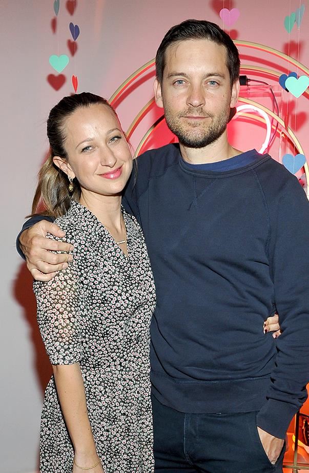 <p><strong>Tobey Maguire and Jennifer Meyer</strong> <p>Tobey and Jennifer, a jewellery designer who's a favourite among the Hollywood set, had been married for nine years when they announced their split in October. They have two children together, Ruby and Otis.