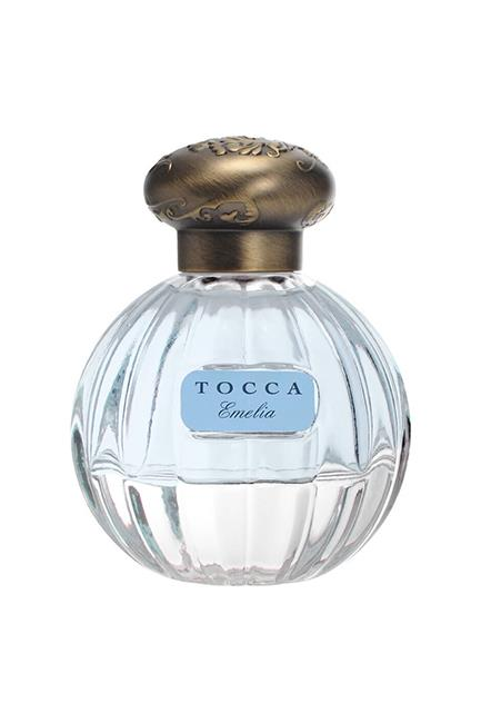 """<strong>For The Destination Wedding:</strong> <br><br>Bottled as an ode to wanderlust, notes of fig, clementine, loquat fruit, geranium, magnolia and amaryllis will appeal to free-spirited brides who are tying the knot away from home. <br><br>Emelia EDP, $99 for 50ml, <a href=""""http://mecca.com.au/tocca/emelia-edp/V-023498.html"""">TOCCA</a>"""