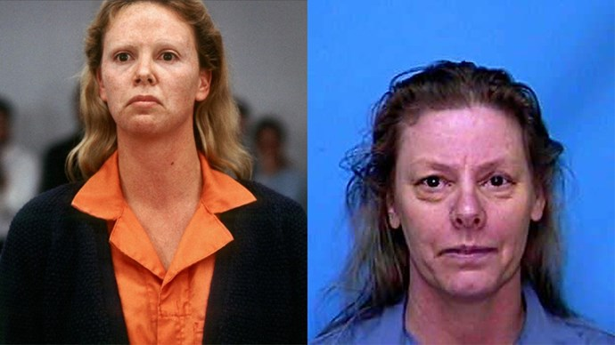 <strong><em>Monster</em></strong> <Br><Br> Charlize Theron as Aileen Wuornos.