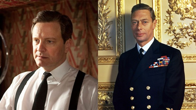<strong>T<em>he King's Speech</em></strong> <br><Br> Colin Firth as King George VI.