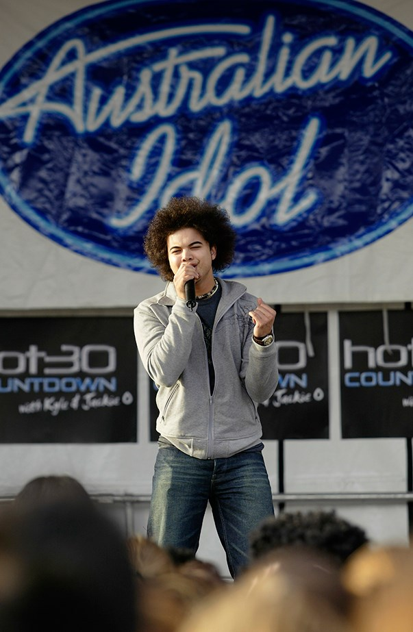 <p><strong>Guy Sebastian</strong> <p>Guy was the very winner of the very first <em>Australian Idol</em> back in 2003. He is now one of Australia's most successful musicians and serves as a mentor and judge on <em>The X Factor</em>.