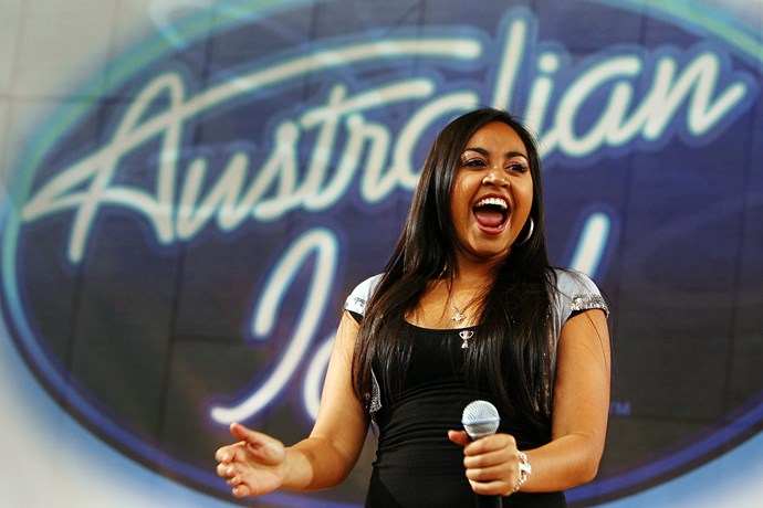 <p><strong>Jessica Mauboy</strong> <p>Jessica is also an <em>Australian Idol</em> alum, but she was the runner-up (to Damien Leith) in 2006. She's one of the country's favourite pop stars and is also an actor—her breakout was in 2012's sleeper hit <em>The Sapphires</em> and she's the lead in the Channel Seven show <em>The Secret Daughter</em>.