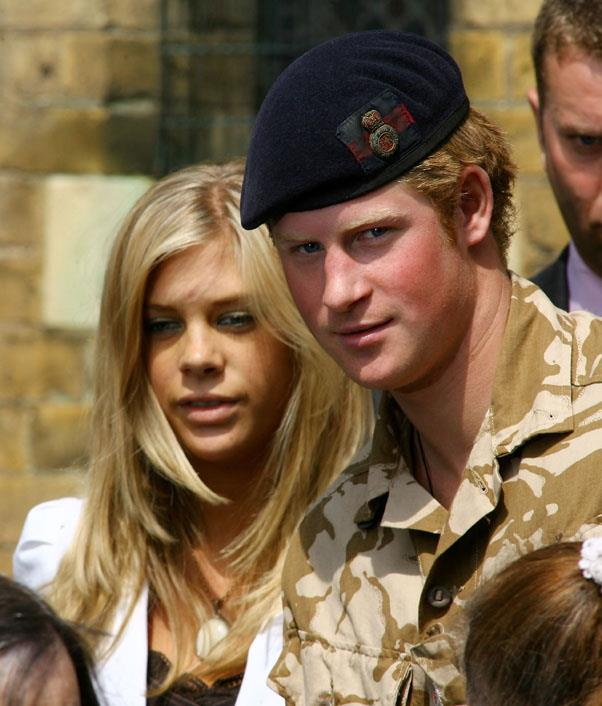 <strong>Chelsy Davy</strong> <br><br> In an on-and-off relationship between 2004 and 2011, Chelsea and Harry were very serious. She met the queen, was by his side for an array of important events, but called it quits just after they attended William and Kate's wedding together.