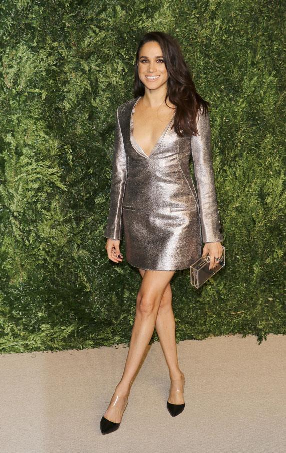 <strong>Meghan Markle</strong> <br><br> Harry confirmed that he is dating his current girlfriend, Meghan Markle, to the tabloids after fiercely requesting that they give them privacy. A public confirmation is unusual for the royal, proving that the couple is serious. They have been reportedly dating for a number of months.