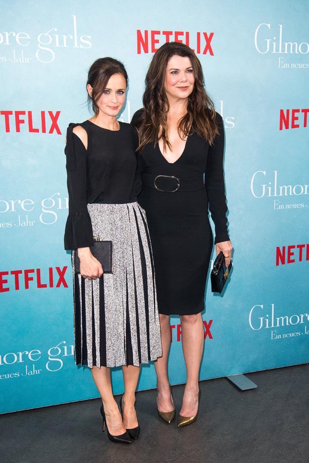 <em>Gilmore Girls'</em> stars Alexis Bledel and Lauren Graham attended the <em>Gilmore Girls</em> fan event  in Germany last weekend ahead of the show's revival.