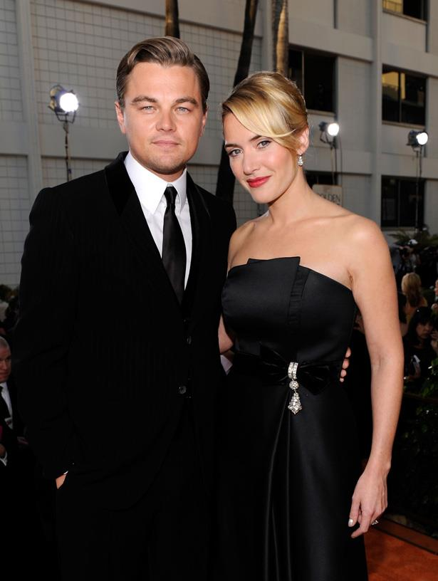 <em>Titanic</em> stars Kate and Leo (we couldn't not put them twice) at the Golden Globes in 2009.