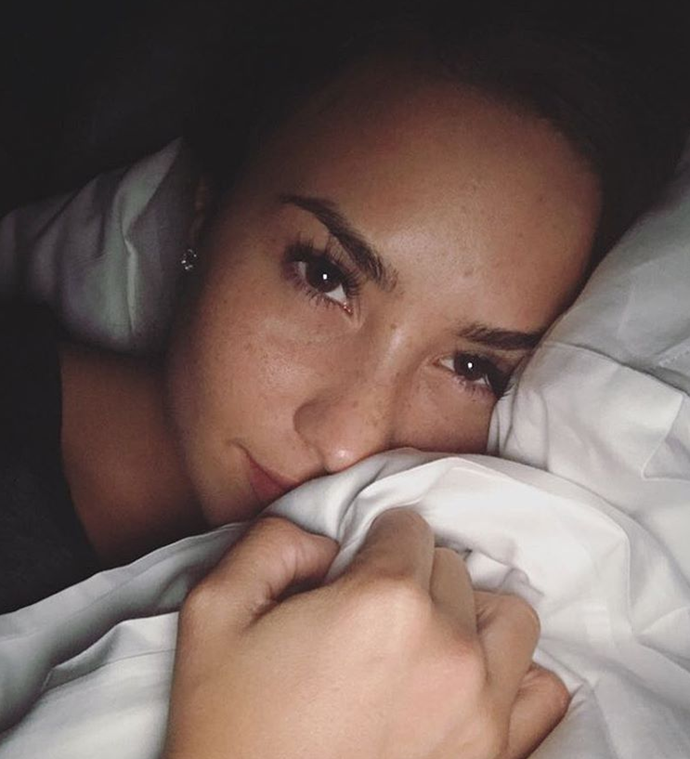 "<p>Demi Lovato quit Instagram and Twitter in 2016 due to people's hateful comments. She reopened her accounts less than 24 hours later, saying ""I love my Lovatics too much to leave them over some lame ass haters... What was I thinking?!"""