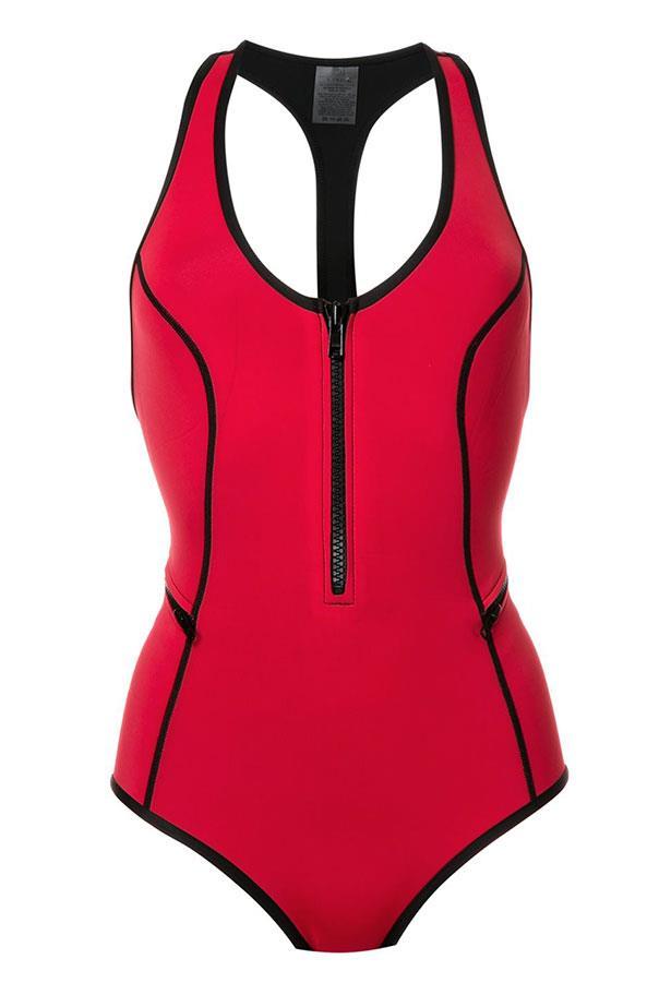 "<a href=""https://www.farfetch.com/au/shopping/women/duskii--oasis-one-piece-swimsuit-item-11628549.aspx?storeid=10245&from=listing&tglmdl=1&ffref=lp_pic_51_86_"">Swimsuit, $195, Duskii at farfetch.com.</a>"