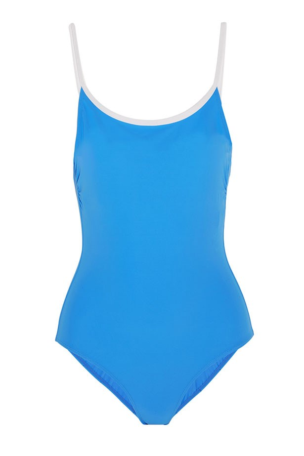 "<a href=""https://www.net-a-porter.com/au/en/product/685957/tory_burch/laurito-swimsuit"">Swimsuit, $239, Tory Burch at net-a-porter.com.</a>"