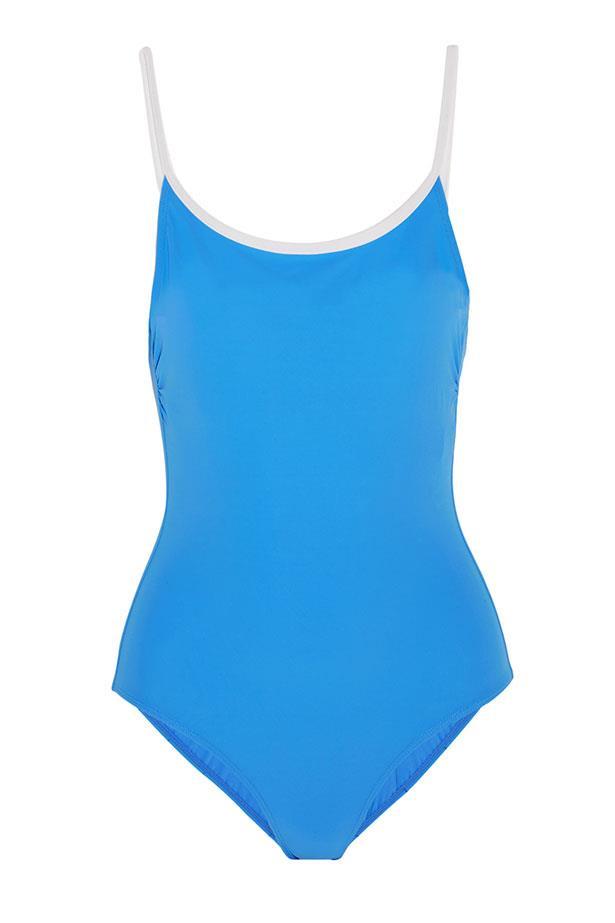 "<a href=""https://www.net-a-porter.com/au/en/product/685957/tory_burch/laurito-swimsuit"">Swimsuit, $239, Tory Burch at net-a-porter.com.</a>"