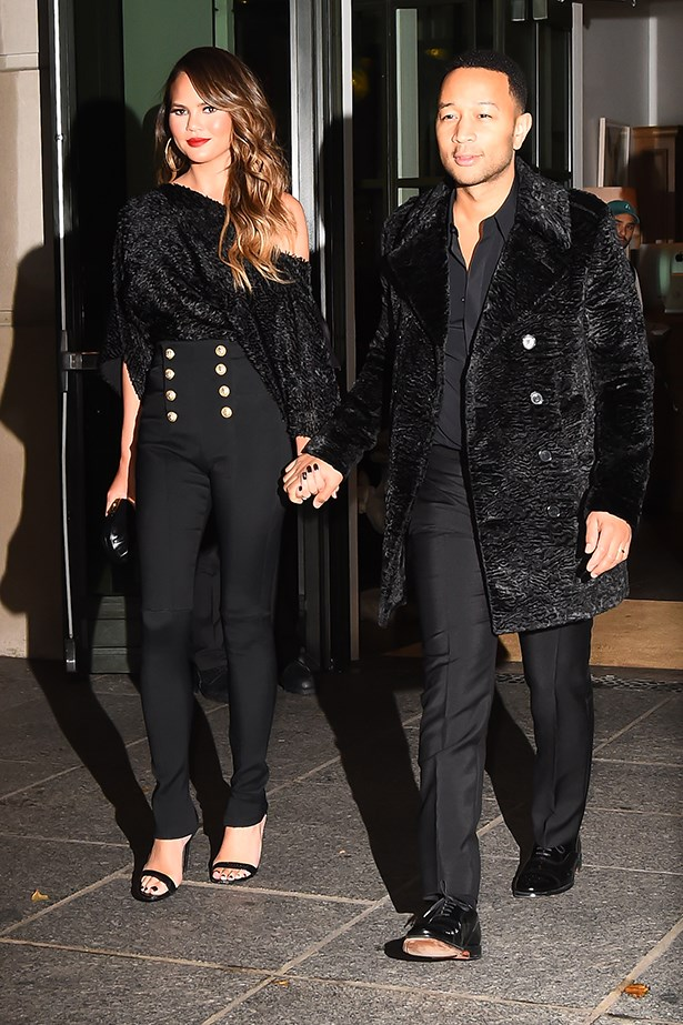 Chrissy Teigen and John Legend fashion