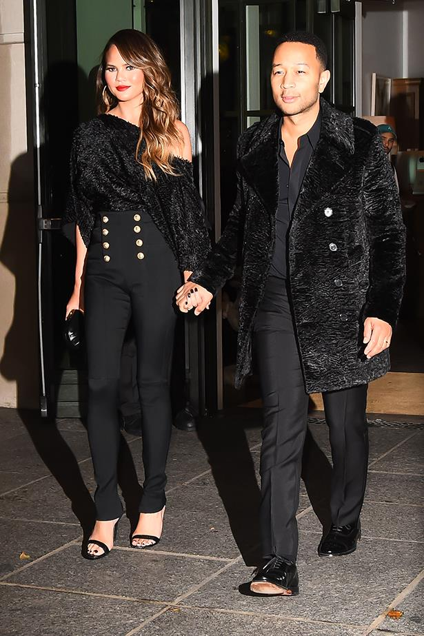 Chrissy Teigen and John Legend fashion