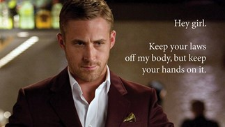 Ryan Gosling Hey Girl meme.