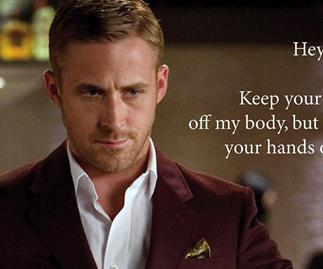 Ryan Gosling Hey Girl meme.