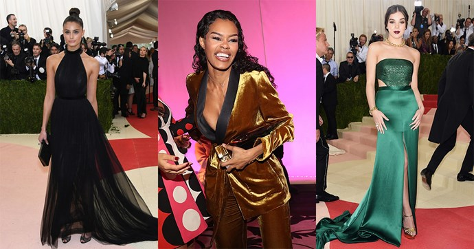 The incredible dancer from Kanye's 'Fade' video just took to the red carpet in a full velvet Zara pantsuit. Here, nine other celebs choosing high street over high fashion.