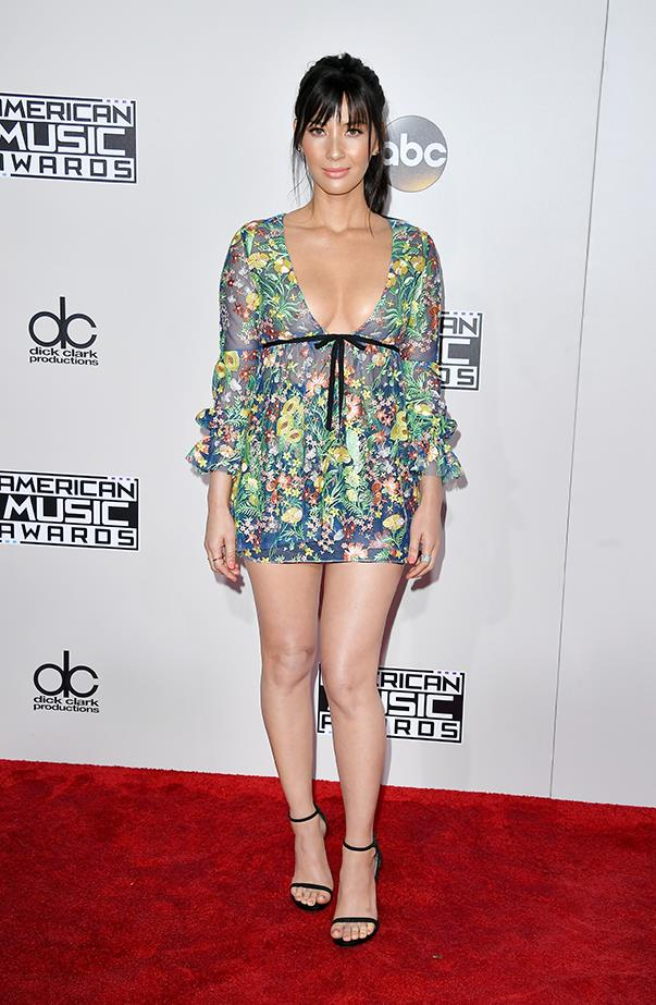 <p>Olivia Munn.