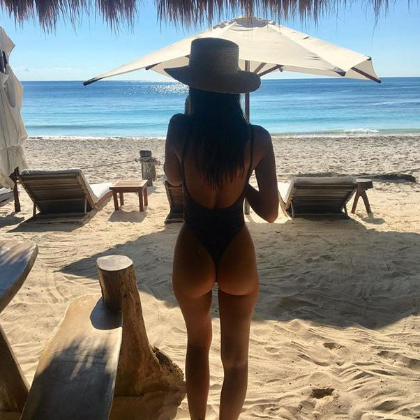 <strong>Holiday Instagram option six: The ultimate holiday snap </strong><br><br> <em>You'll need:</em>To pull out all the stops: Hat, perfectly cut one-piece, beach chairs, beach and a friend who understands the intricate art of perfect lighting.