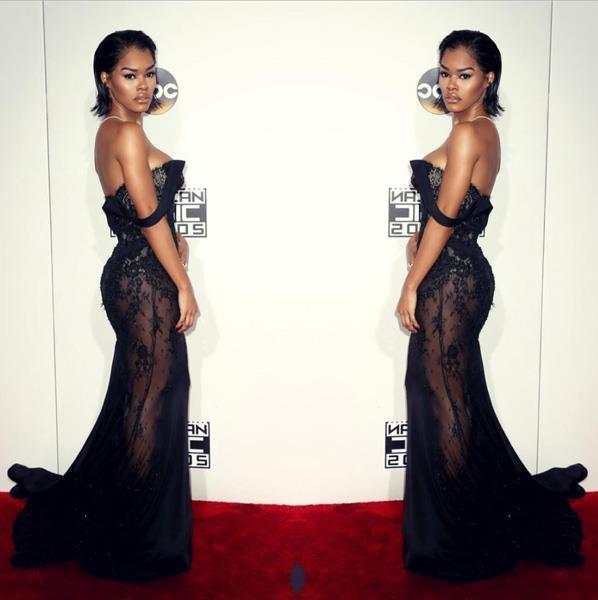 """Teyana Taylor absolutely killin' the red carpet. <br><Br> Image: <a href=""""https://www.instagram.com/p/BND5LOaBrzT/?taken-by=teyanataylor&hl=en"""">@TeyanaTaylor</a>"""
