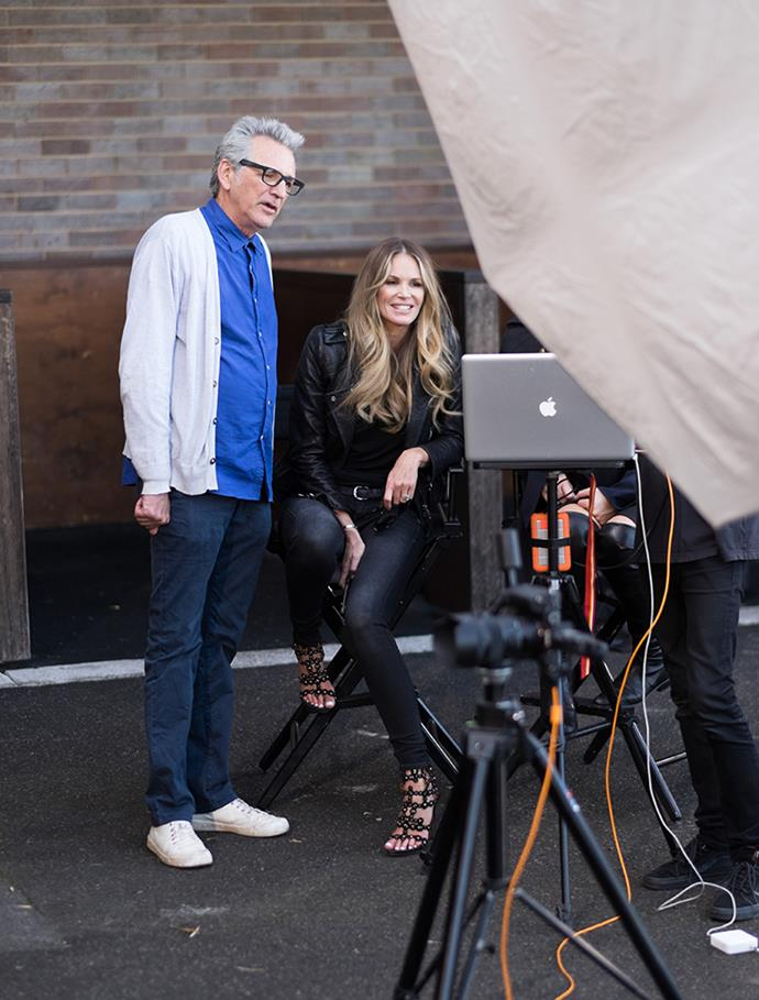 <p><strong>The guest mentors were epic.</strong> <p>The show managed to ring in some of the biggest Australian names in modelling, like Elle Macpherson, who gave them tips on the spring racing-themed shoot in episode two. <p>Photography credit: © FOXTEL / Ben Symons</p>