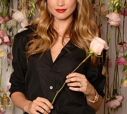 Behati Prinsloo rose