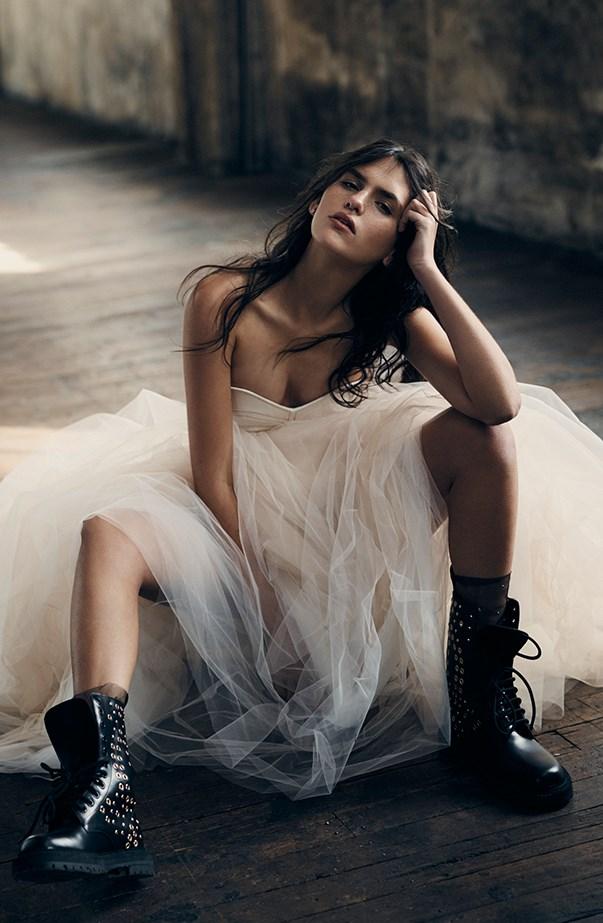 Sabine Jamieson Australia's Next Top Model ELLE Shoot