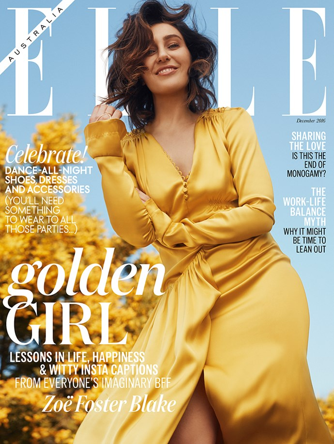 <p>The December issue of <em>ELLE</em>, featuring Zoë Foster Blake, is on sale now.