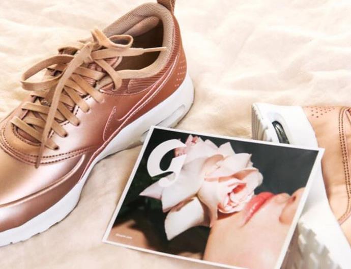 Rose Gold Nike Sneakers Australia