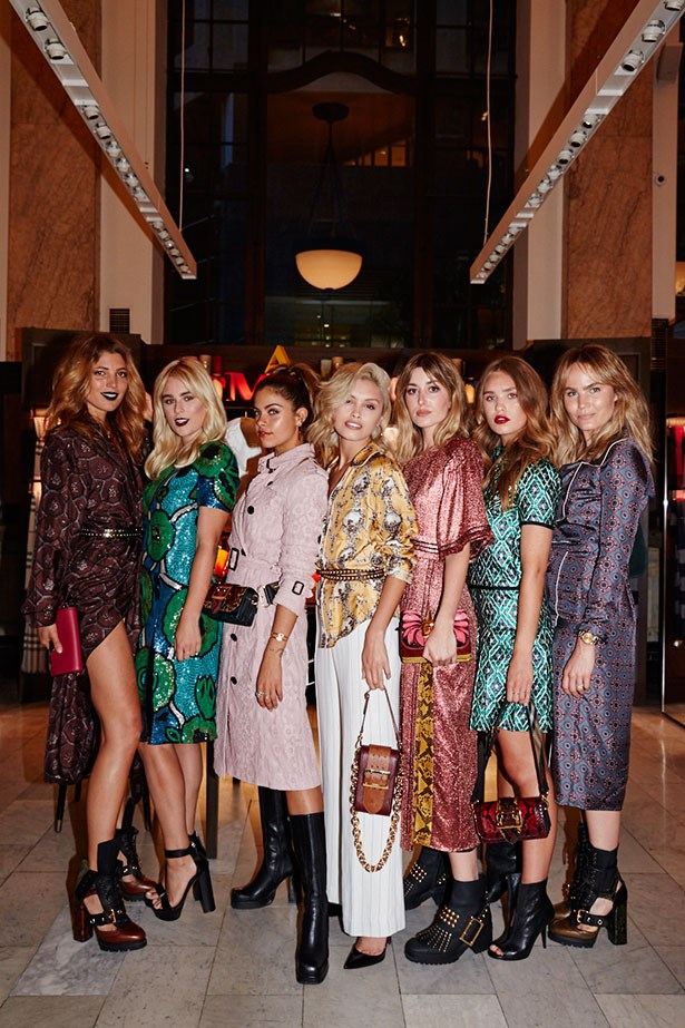 Sydney's chicest ladies flocked to Burberry's store for the newest relaunch and their fashion was a visual feast.