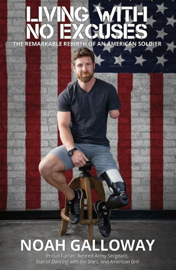 """<strong>Scorpio: Living With No Excuses</strong> <em>Author: Noah Galloway</em> <br><br> As a Scorpio, you have an intensely fierce sense of ambition, a desire to be in control, and you've spent a lot of time learning not to be afraid of your own power. Which is why you'll love getting to know Noah Galloway, an Iraqi war veteran that you may have seen dancing across your screen on <em>Dancing With the Stars</em>, or coaching everyday people (including a few fierce moms) on <em>American Grit</em>. <br><br> But the story of how he fought back from an injury that cost him an arm and a leg (and the deep bout of depression that followed after) all while learning how to be a man his three kids could look up to is what you'll really connect with. And since you love so intensely, Noah's personal stories of romance will keep you flipping pages. Buy it <a href=""""http://www.bookdepository.com/Living-with-No-Excuses/9781455596935"""">here</a>."""